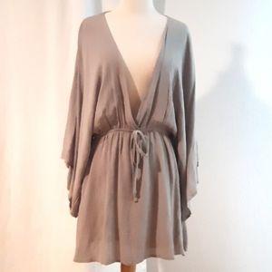 Tobi Helene Kimono Shift Dress